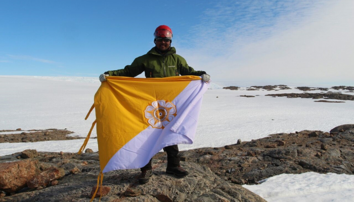 UGM Geologist on Antartica Expedition