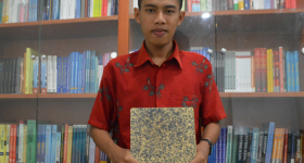 UGM Students Make Cassava Stem Particle Board