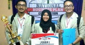 UGM Team Wins Business Competition