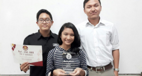 EDS UGM Wins ALSA English Debating Competition