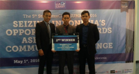 UGM Students Second Winner in Business Strategy Competition