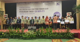 UGM Win 17 Medals at Maths and Natural Sciences Olympiad