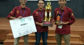 UGM Students Win Potential Analysis Competition of High Speed Rail