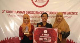 UGM Students won ASEAN GeoScience Competition