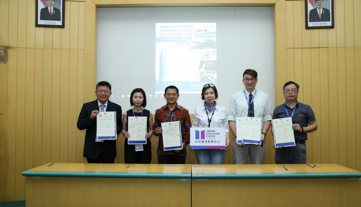 UGM Buka Kerja Sama dengan Perguruan Tinggi di Taiwan