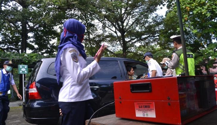 UGM dan Dishub Sleman Gelar Uji Emisi Kendaraan