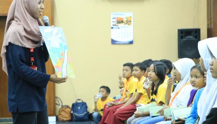 UGM dan MRFI Berikan Pelatihan Mitigasi Erupsi pada Siswa SD