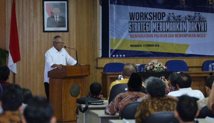 Menteri PUPR Gandeng Akademisi Atasi Persoalan Pasokan Perumahan