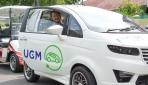 Mobil Listrik UGM Keliling Yogyakarta