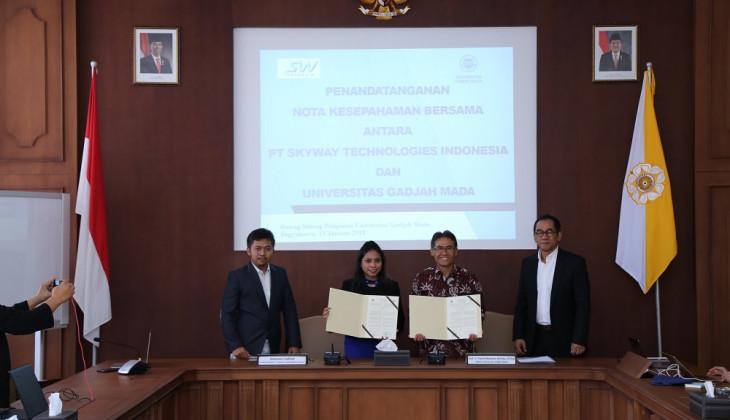 UGM dan SkyWay Technologies Indonesia Kerja Sama Pengembangan Inovasi Transportasi