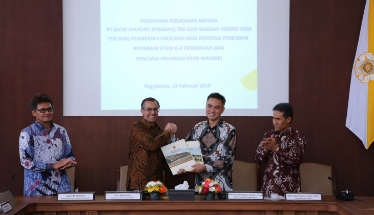 SV UGM dan Bank Mandiri Sepakat Buka Program D-4 Perbankan