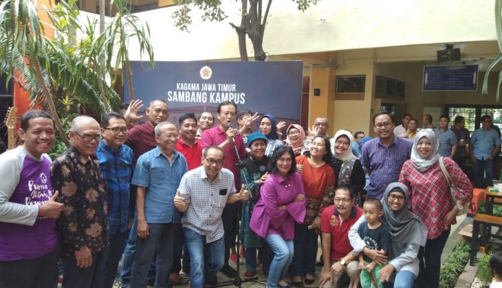 Sambang Kampus KAGAMA Jawa Timur