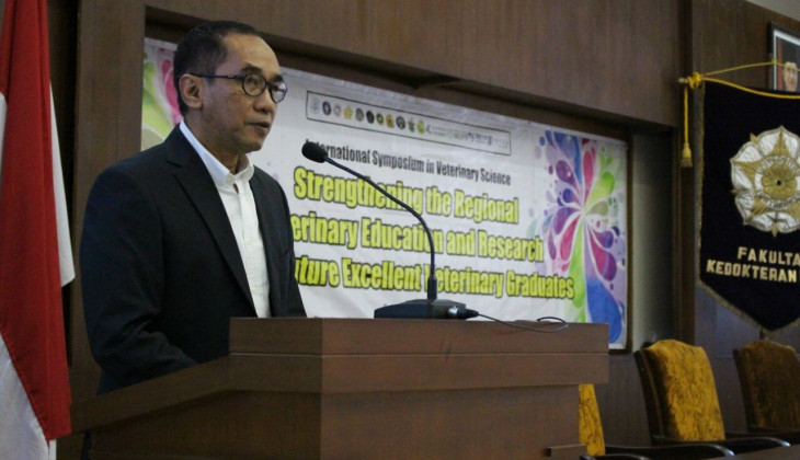 FKH dan AJIVE Gelar International Symposium in Veterinary Science
