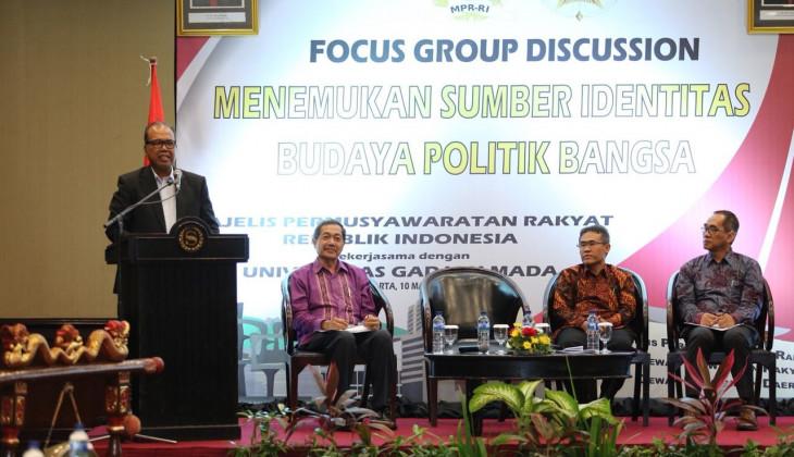 UGM dan MPR Gelar Diskusi Menemukan Identitas Budaya Politik Bangsa