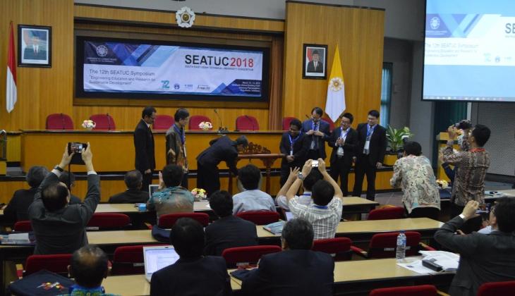 Rektor Buka SEATUC 2018