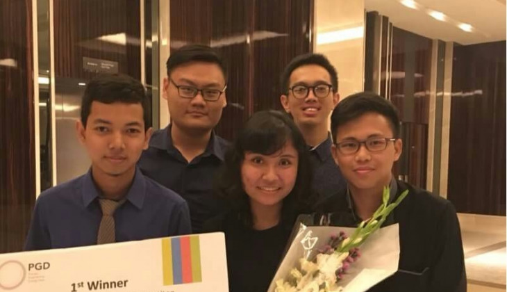 BUMDest UGM Raih Juara I Chemical Product Design Competition 2018
