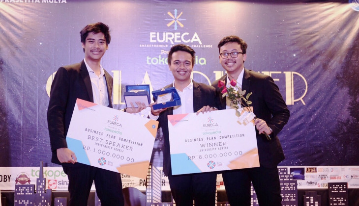 Mahasiswa FEB UGM Raih Juara di EURECA 2018