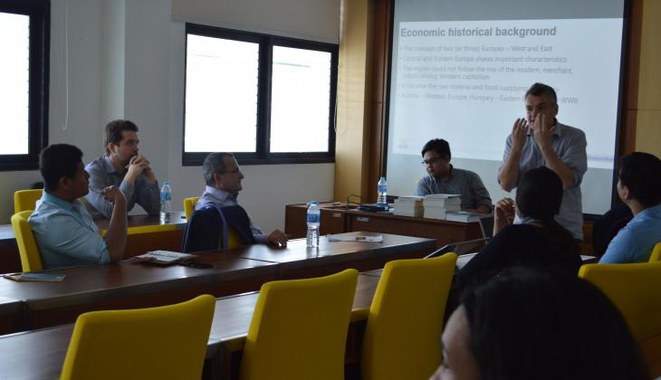 IIS dan kedutaan Besar Hongaria Adakan Kuliah Umum