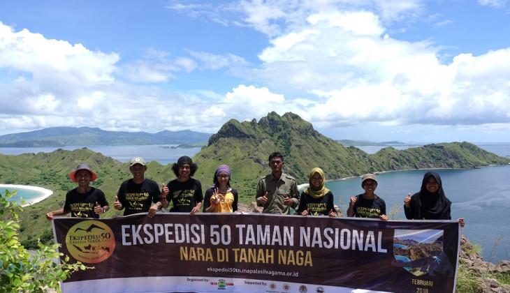 Mapala Silvagama Eksplorasi Dua Taman Nasional di NTT