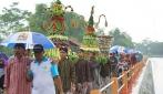 Tradisi Mapag Toya di Embung Potorono Bantul