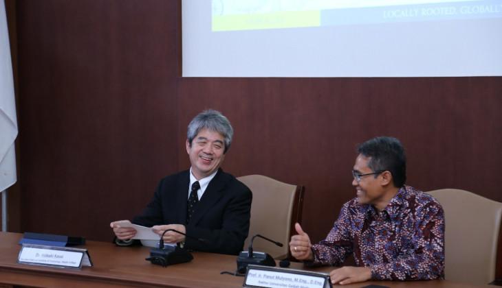 UGM Tingkatkan Kerja Sama dengan Akashi College Jepang