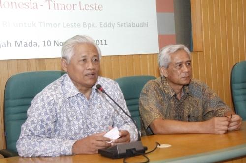 UGM Terima Kunjungan Dubes RI Untuk Timor Leste