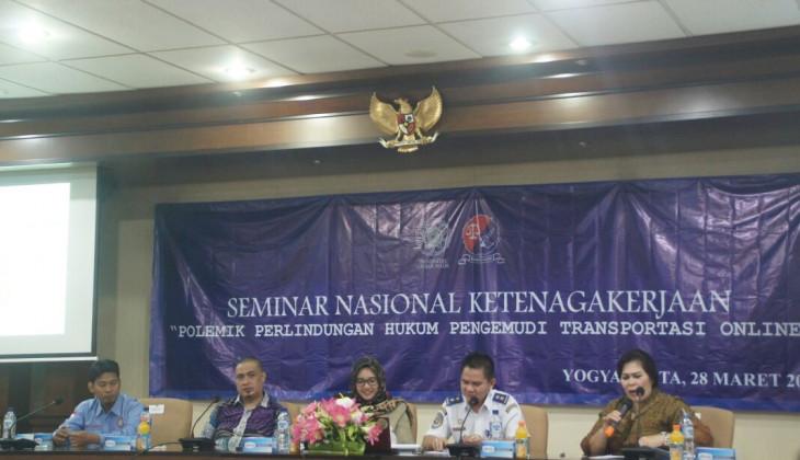 KMMH Gelar Seminar Perlindungan Hukum Pengemudi Transportasi Online