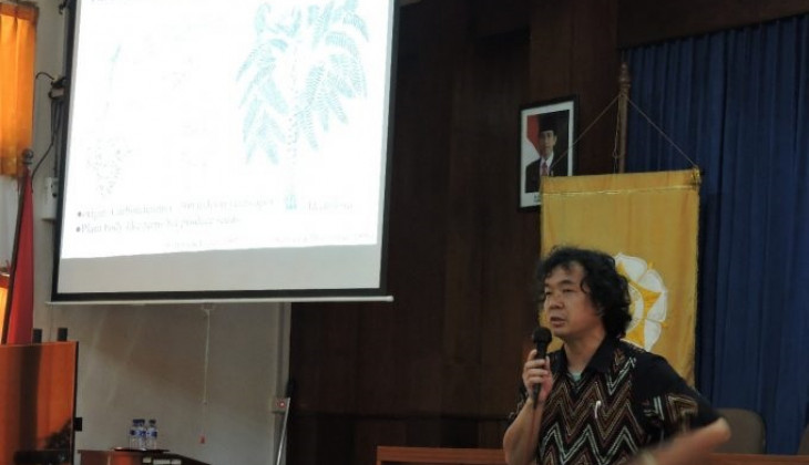 Pakar Biologi Yamagata University Berikan Kuliah Tamu di Fakultas Biologi UGM