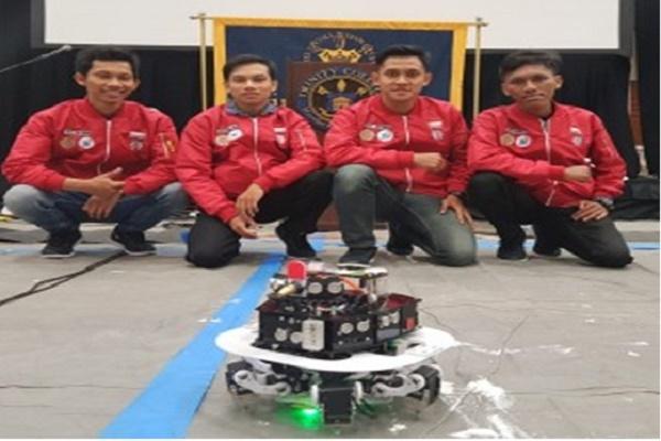 Mahasiswa UGM Ikuti Lomba Robot Dunia
