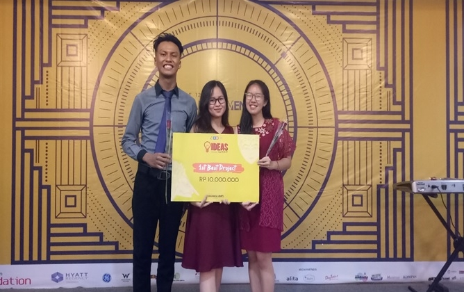Mahasiswa UGM Juara IDEAS Summit Batch 4
