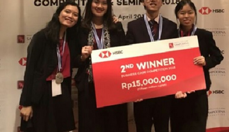 Tim UGM Raih Gelar 2nd Winner di HSBC Business Case Competition 2018
