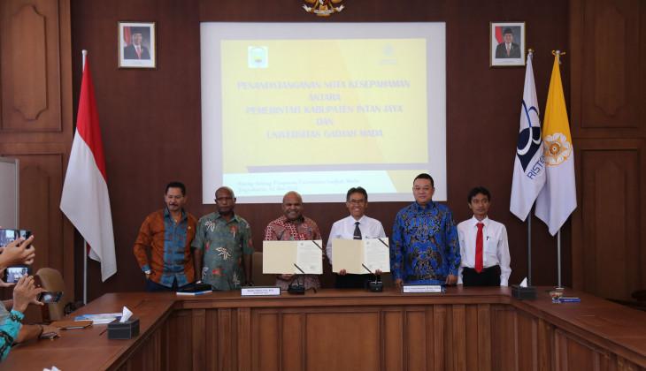 UGM dan Kabupaten Intan Jaya Kerjasama Percepatan Pembangunan