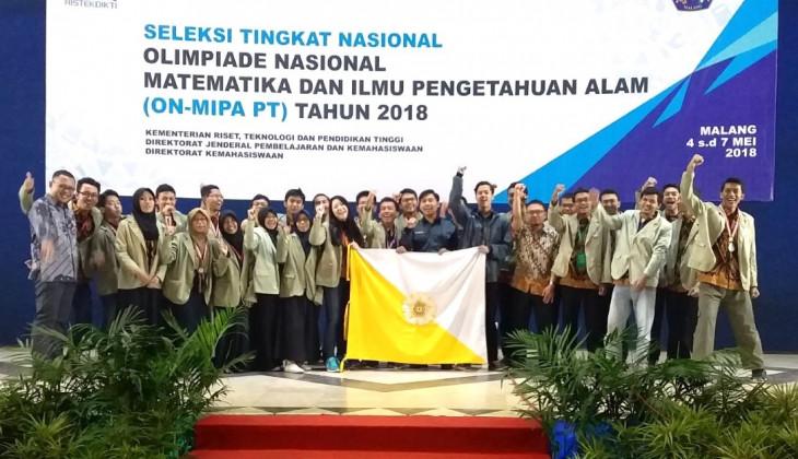 UGM Borong 15 Medali ON MIPA 2018