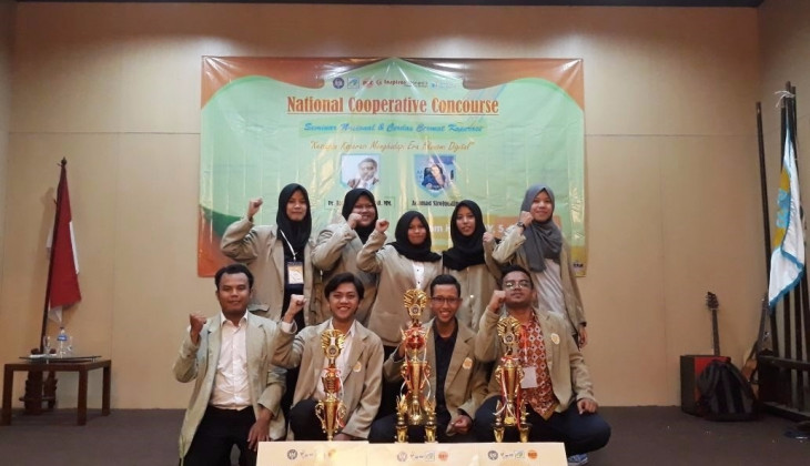 Kopma UGM Dominasi Juara Kompetisi Koperasi Mahasiswa Nasional
