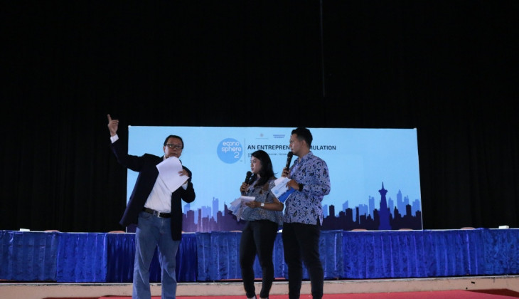 Innovative Academy Gelar Entrepreneur Simulation Program: Econosphere 2
