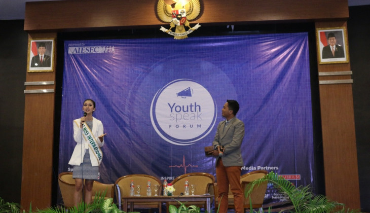 AIESEC UGM Mengadakan Youth Speak Forum 2018