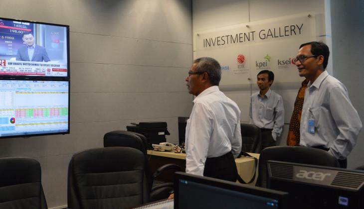 FEB UGM Buka Galeri Investasi