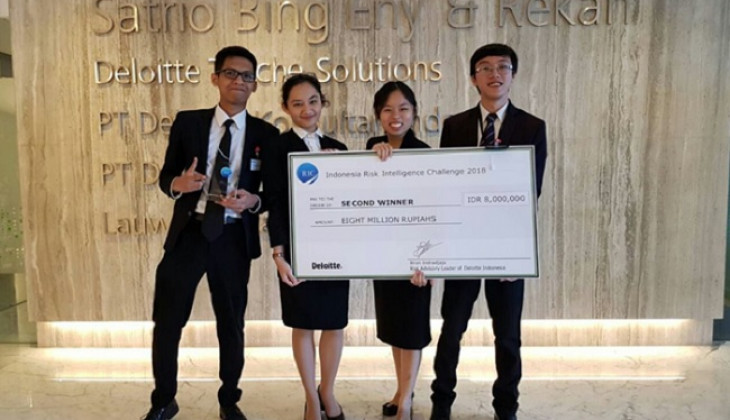 UGM Juara di Deloitte Risk Intelligence Challenge 2018