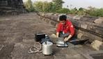 Mahasiswa UGM Teliti Kerentanan Gempa Bangunan Candi Borobudur
