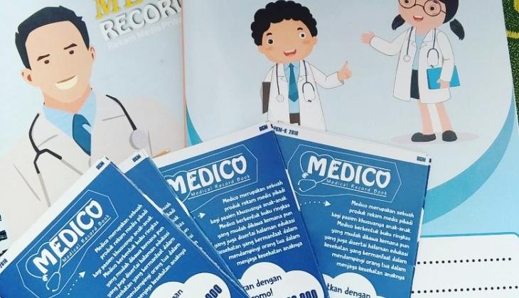 Mahasiswa UGM Bikin Buku Rekam Medik Pribadi untuk Pasien Anak