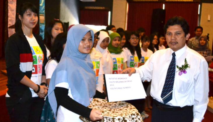 Dukung Percepatan MDGs, Mahasiswa Sampaikan Deklarasi Youth Millenium Drive