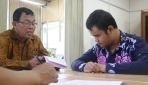 Perjuangan Taufik dan Choirul, Penyandang Tuna Netra Ikut Seleksi Masuk UGM