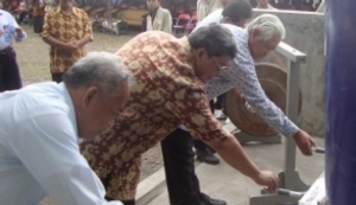UGM, BAZNAS dan Pemkab Sleman Resmikan Rekonstruksi dan Pengembangan Air Bersih