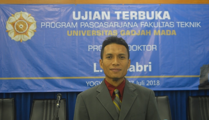 Earns Doctorate After Studying Land Subsidence of Semarang