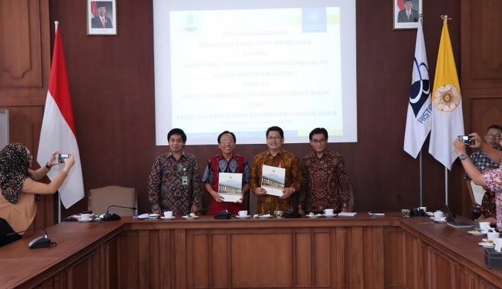 UGM Jalin Kerja Sama dengan Badan Restorasi Gambut RI