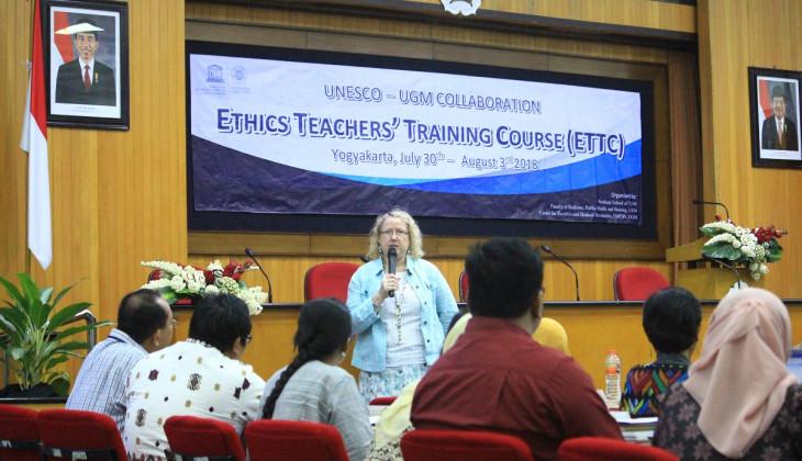 UGM-UNESCO Selenggarakan Ethics Teacher's Training Course