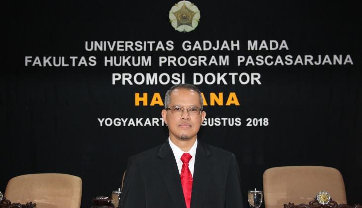 Direktur Utama Sinarmas Raih Doktor di UGM