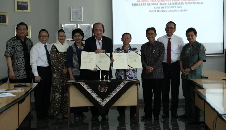 Tahir Foundation Serahkan Gedung Pascasarjana FKKMK UGM
