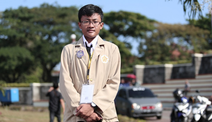 Nur Wijaya Kusuma Mahasiswa Termuda UGM Berusia 15 Tahun