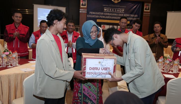 UGM Kembali Kirim Relawan dan Mahasiswa KKN Peduli Bencana Lombok